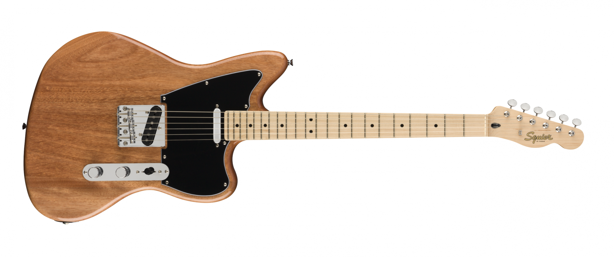 Fender Squier Paranormal Offset Telecaster, Maple Fingerboard, Natural