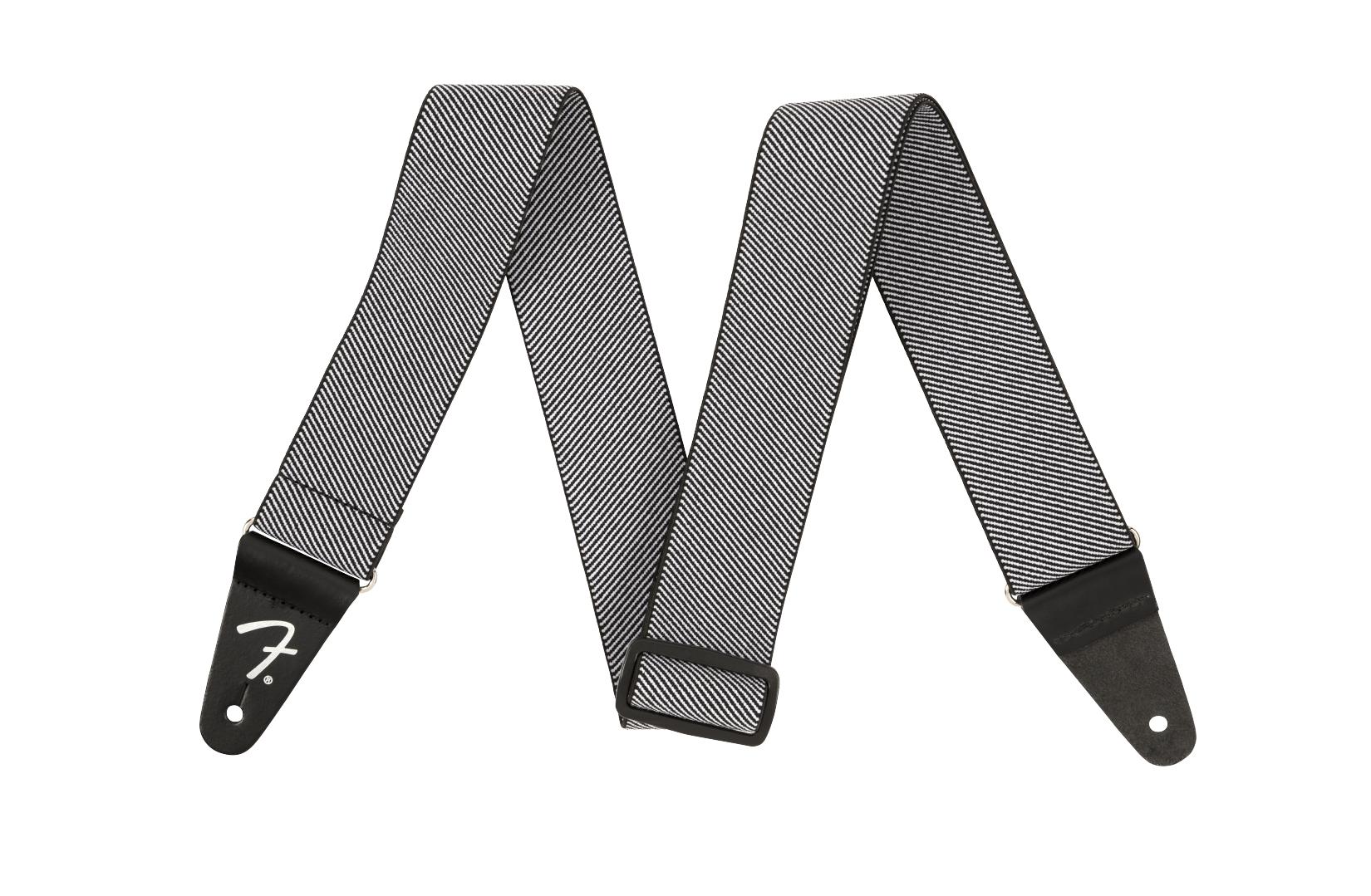 Fender WeighLess 2 Tweed Strap, White
