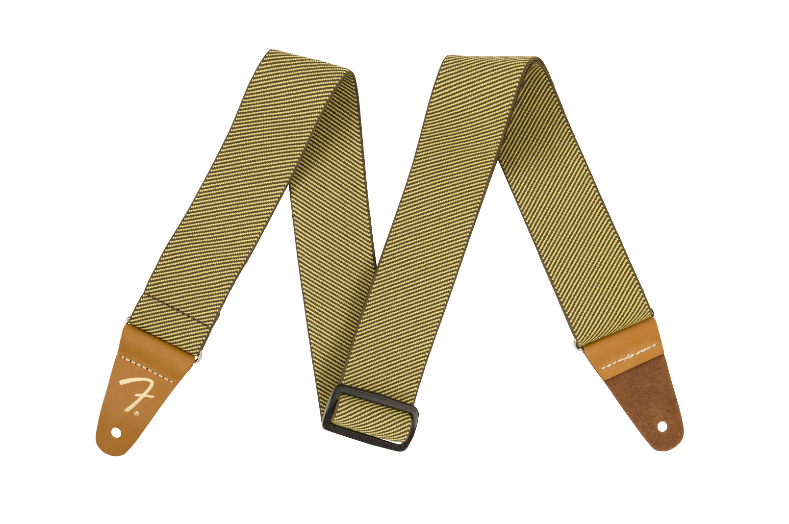Fender WeighLess 2 Tweed Strap, Yellow