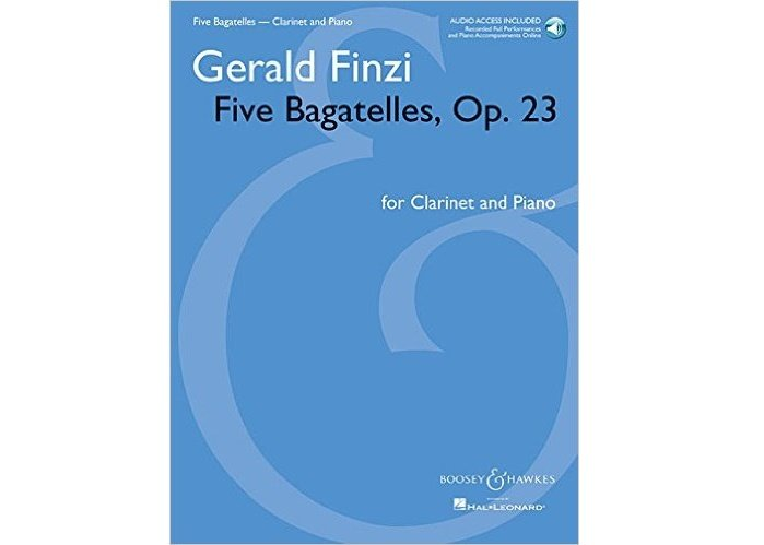 Finzi Five Bagatelles Op. 23 for Clarinet and Piano