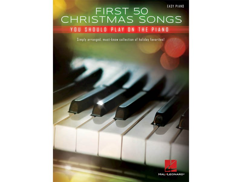 First 50 Christmas Songs You Should Play on Piano