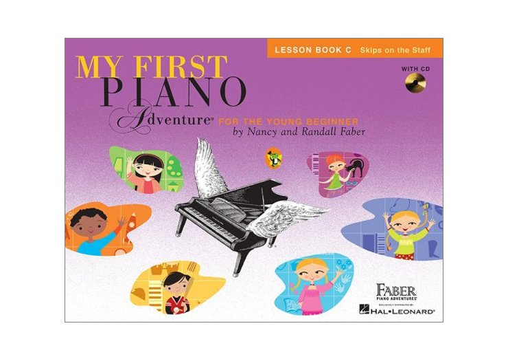 Faber My First Piano Adventure Book C Lesson with CD