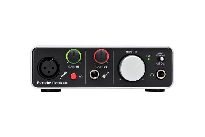 Focusrite iTrack Solo Lightning Audio Interface