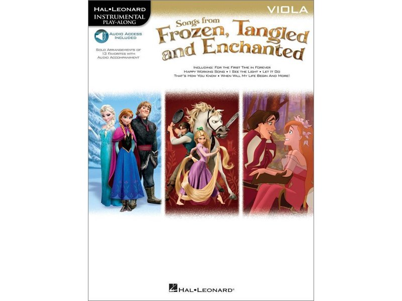 Songs from Frozen Tangled and Enchanted - Viola