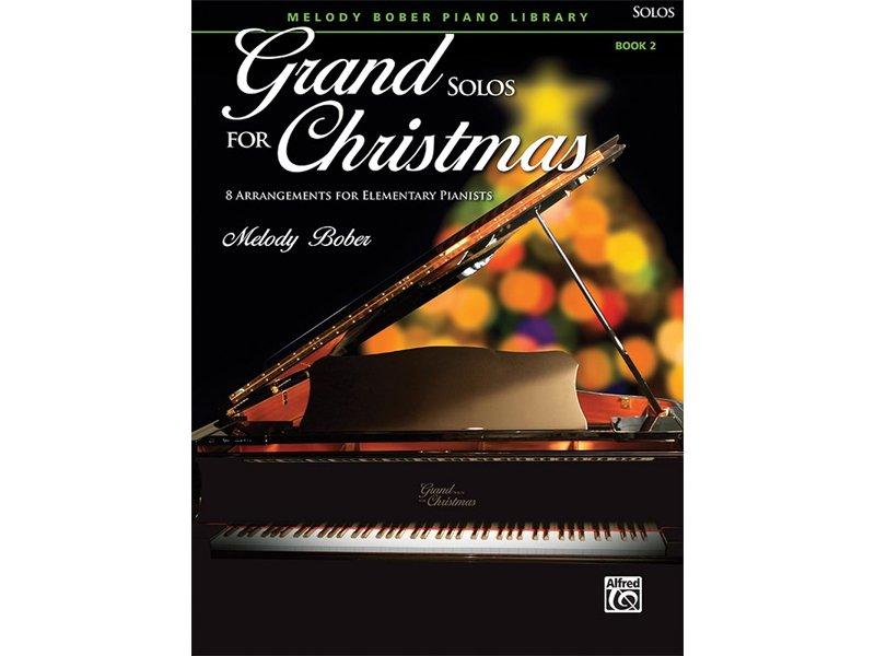 Grand Solos for Christmas Book 2