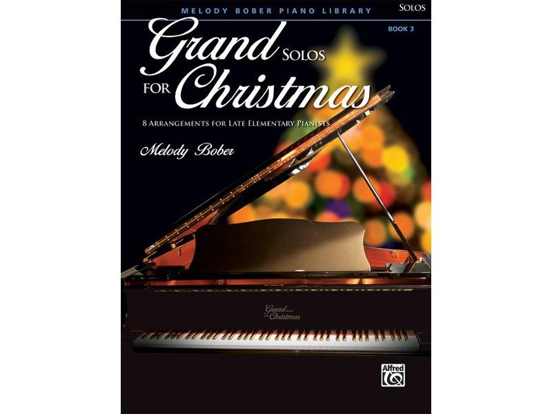 Grand Solos for Christmas Book 3