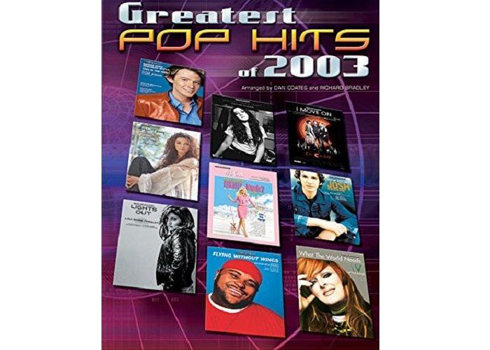 Greatest Pop Hits of 2003 - Flute