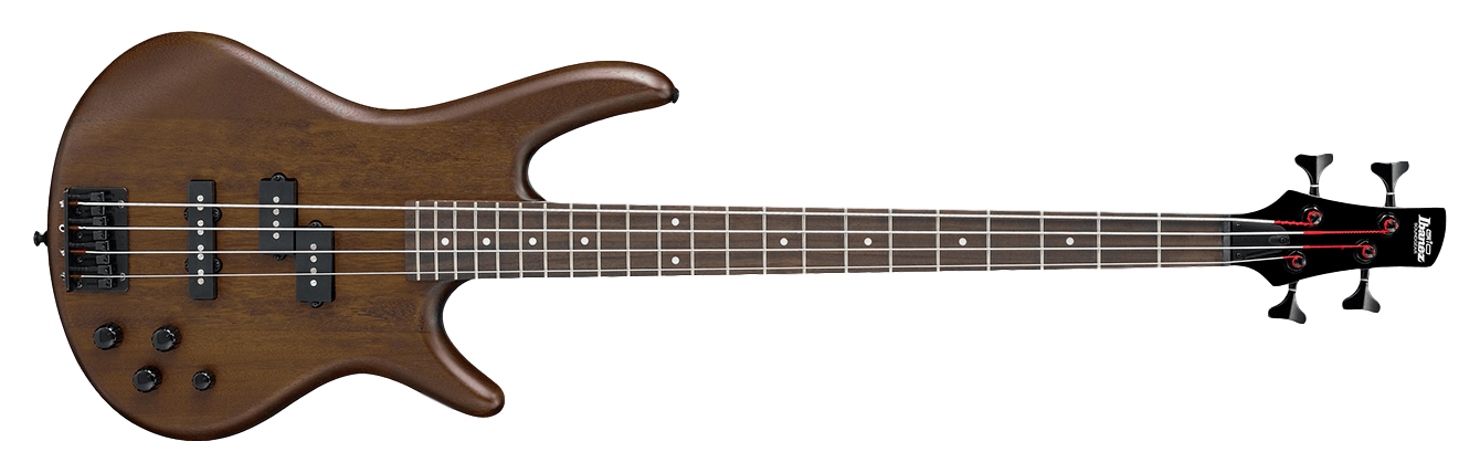 Ibanez GSR200B Gio Electric Bass, Walnut Flat