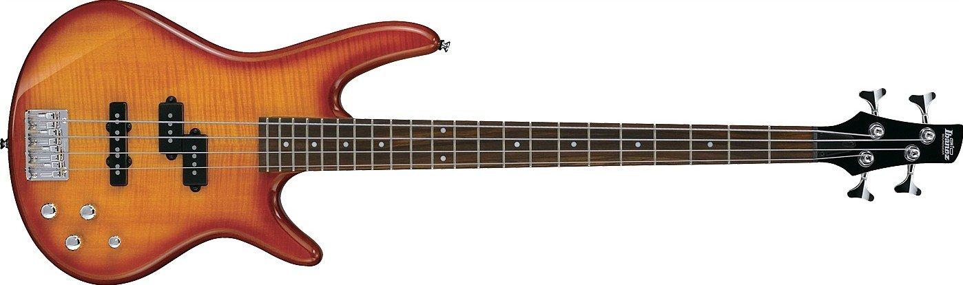 Ibanez GSR200FM Gio Electric Bass, Amber Burst