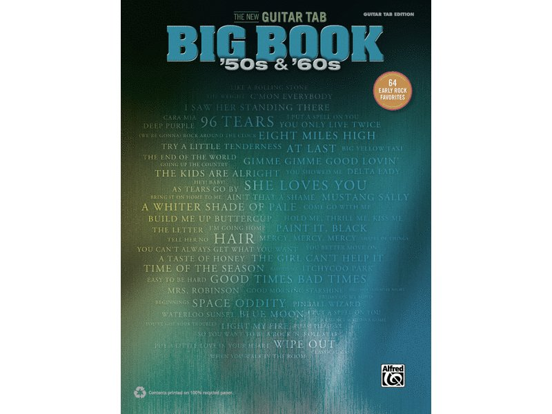 The New Guitar Tab Big Book, '50s & '60s