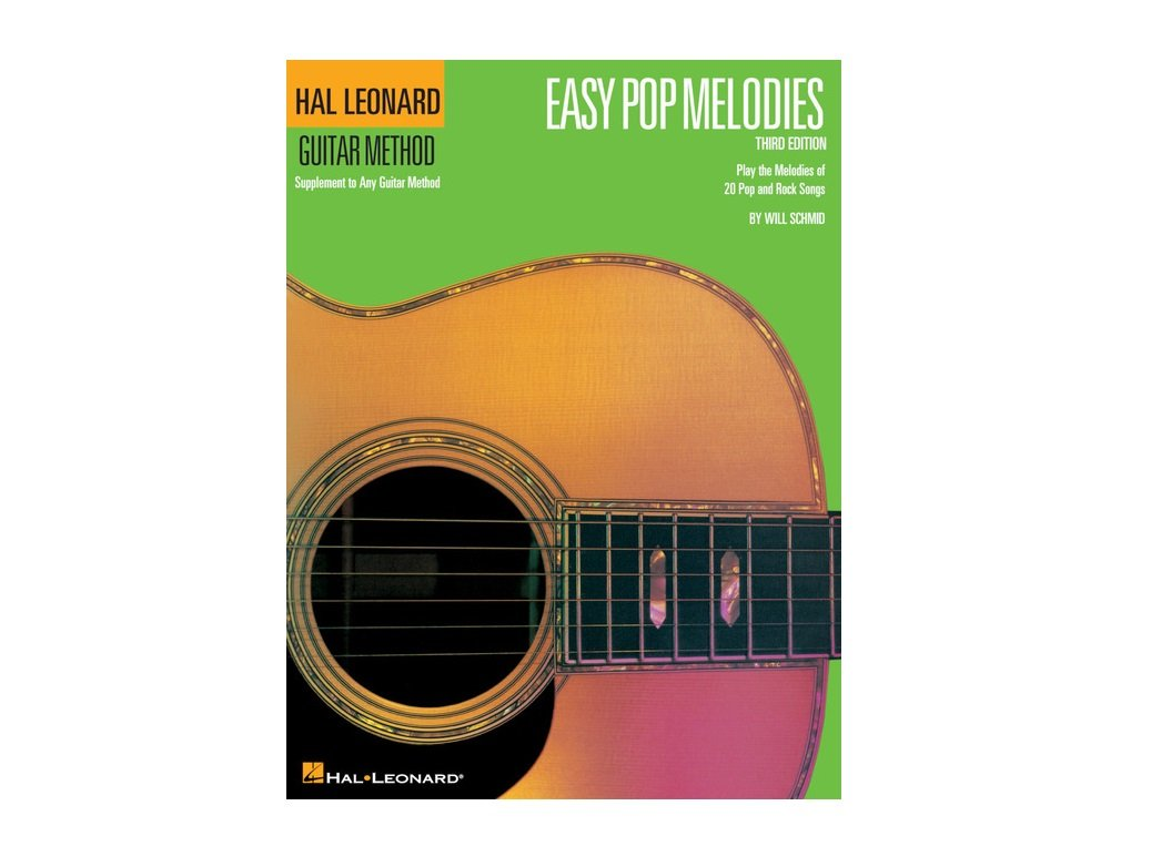Hal Leonard Guitar Method Easy Pop Melodies