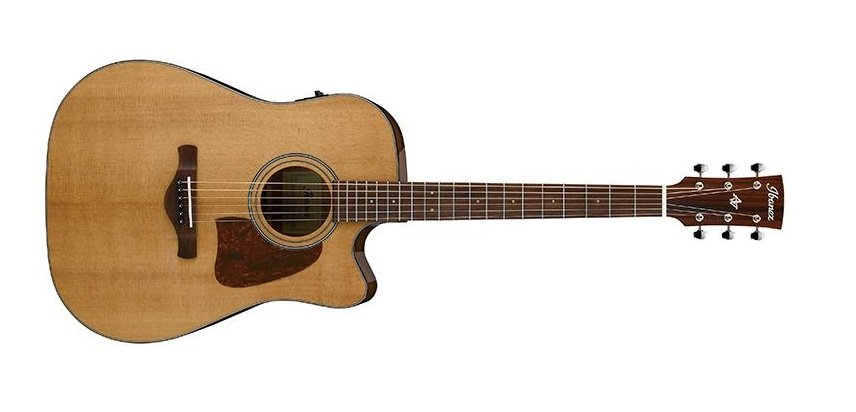 Ibanez AVD9CE Artwood Vintage Dreadnought Acoustic Guitar, Natural