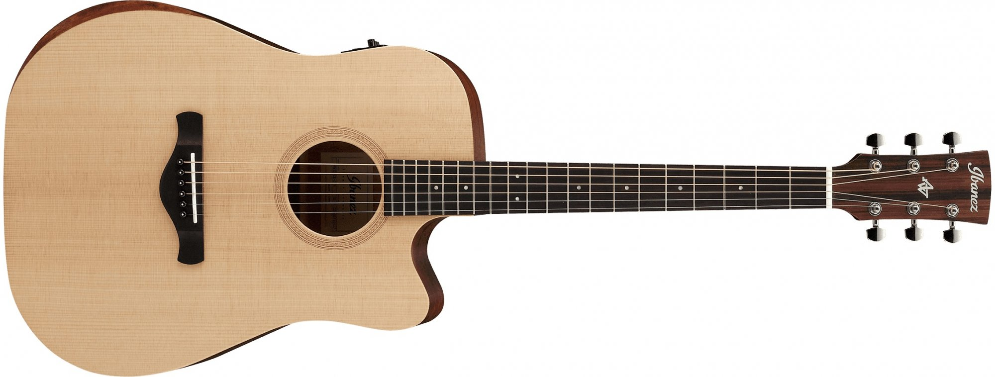 Ibanez AW150CE Acoustic Electric Guitar, Open Pore Natural