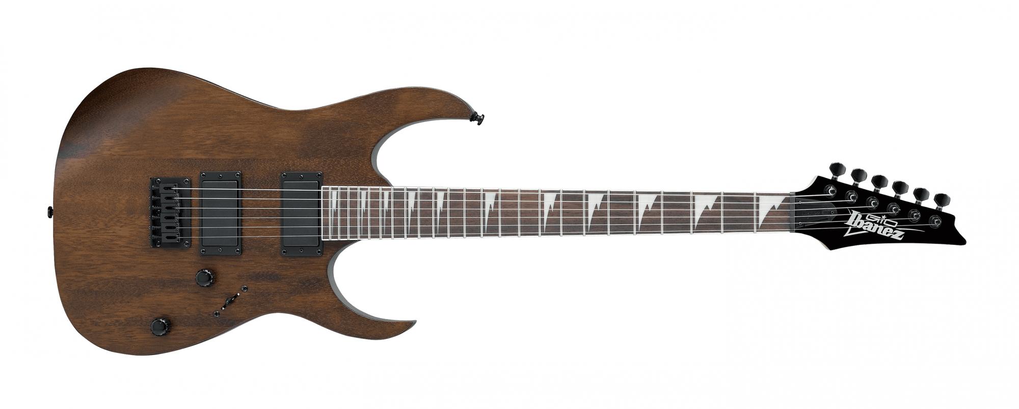 Ibanez GRG121DX Electric Guitar, Walnut Flat