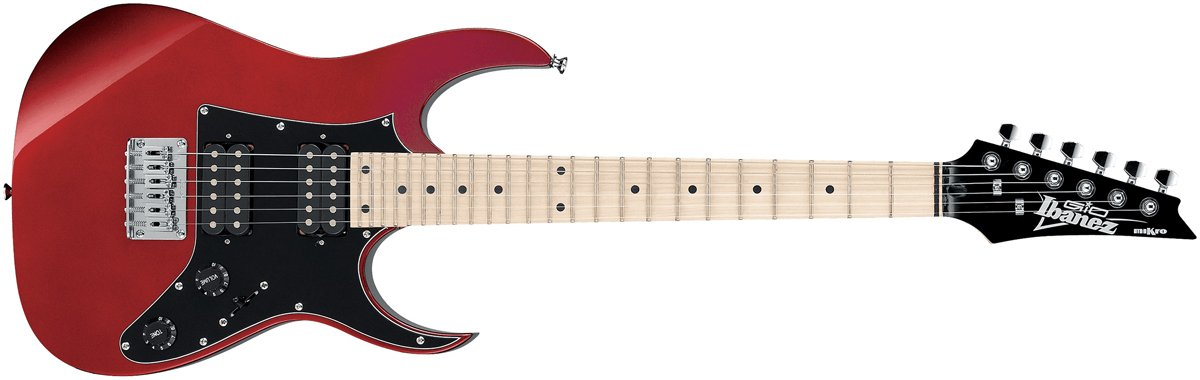 Ibanez GRGM21 Mikro Gio Electric Guitar, Candy Apple