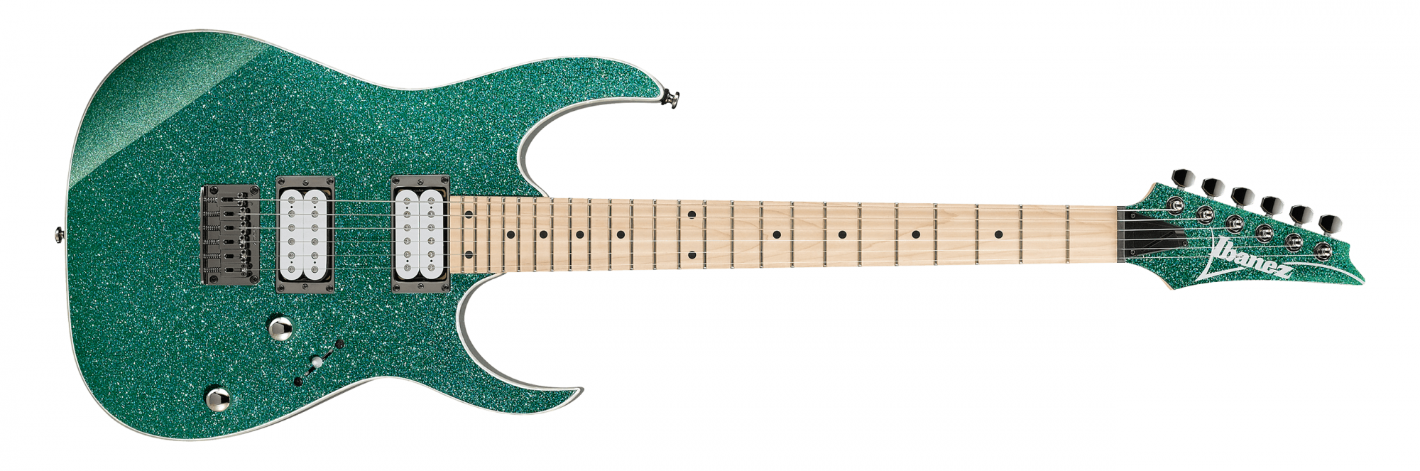Ibanez RG421MSP Electric Guitar, Turquoise Sparkle