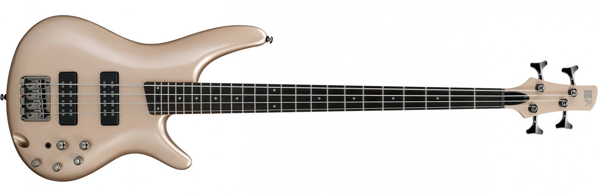 Ibanez SR300E Electric Bass, Champagne Gold