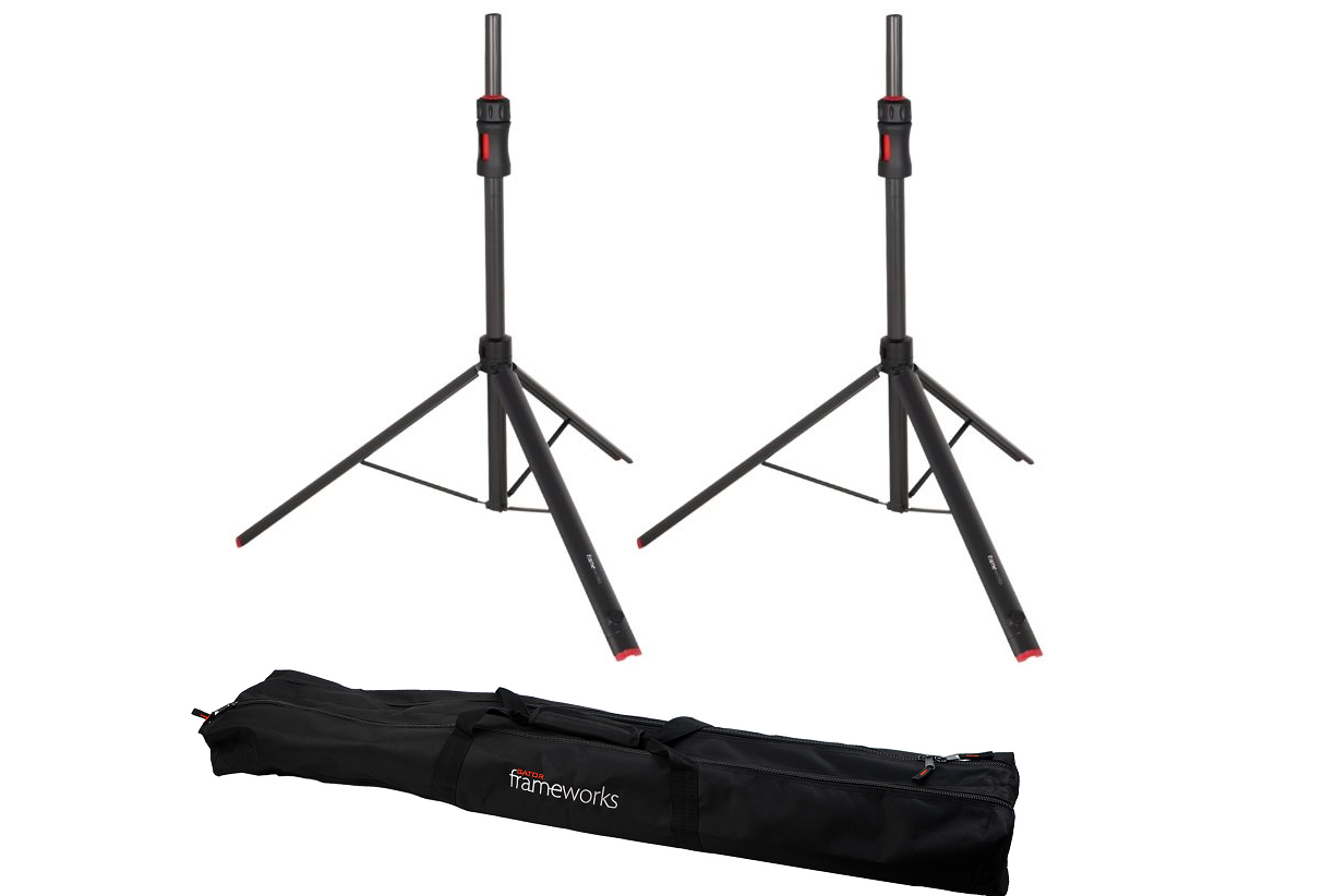 Gator frameworks Speaker Stand (SET of 2 w/Bag)