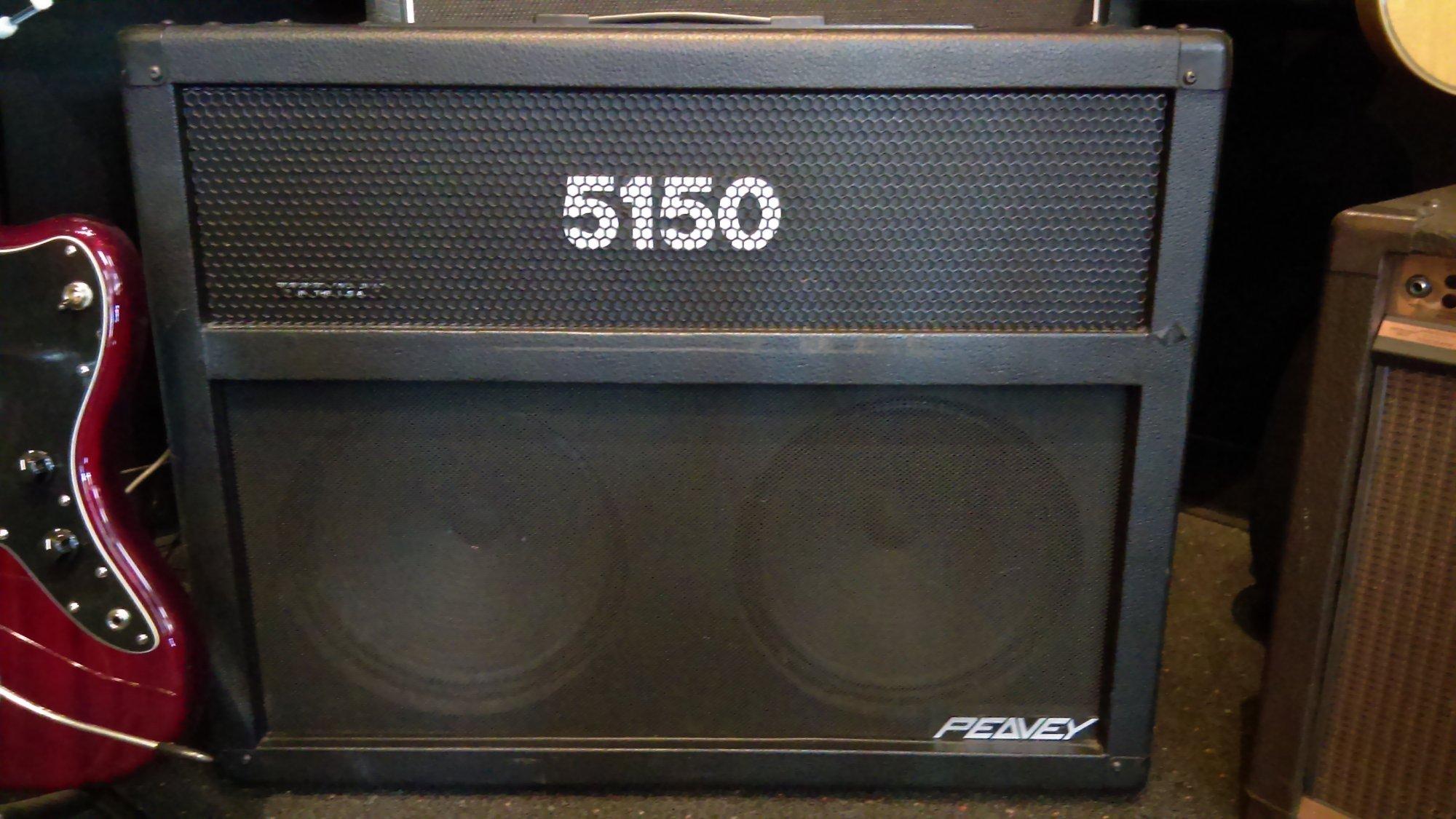 USED Peavey 5150 60-Watt 2x12 Tube Combo Amplifier