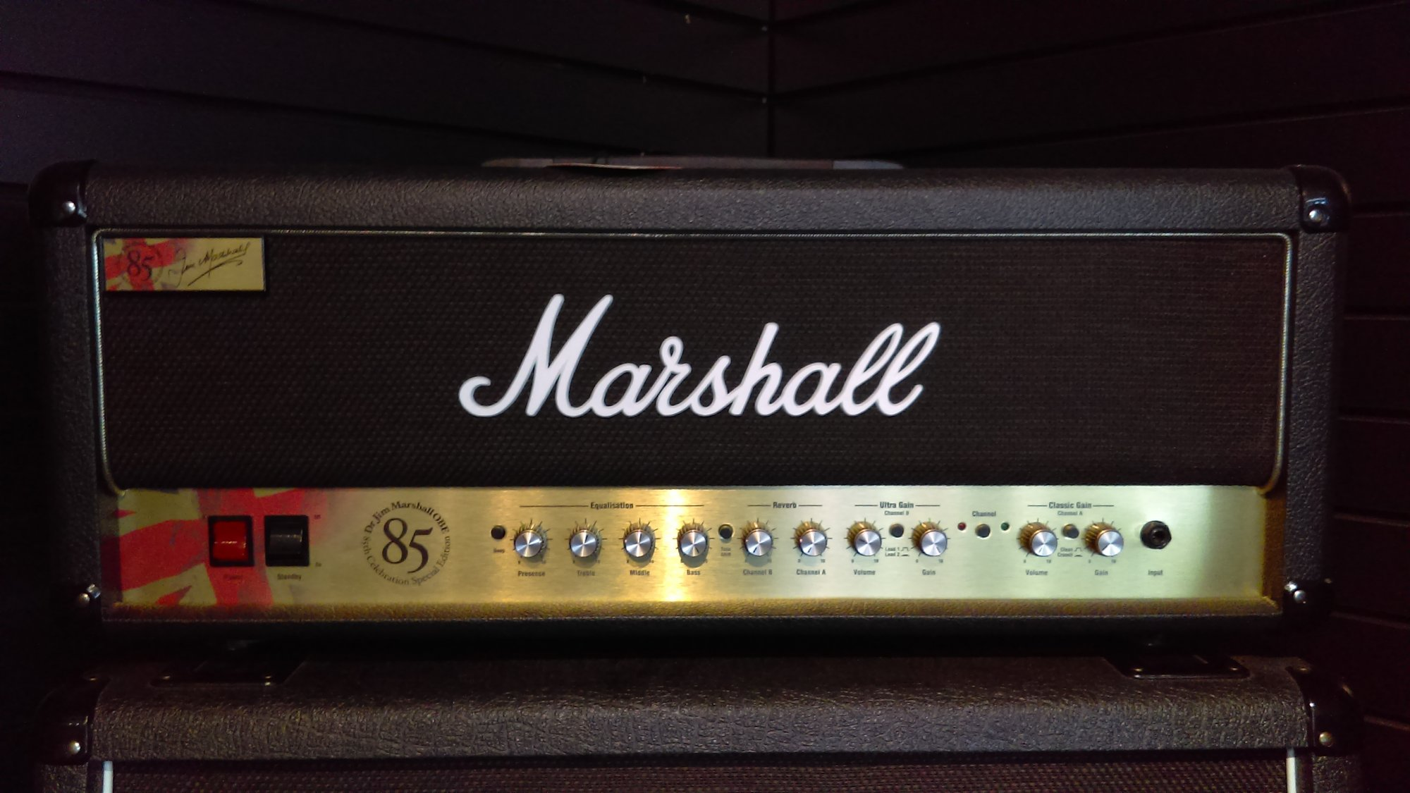 Marshall 1923 85th Anniversary 50W Tube Guitar Amp Head