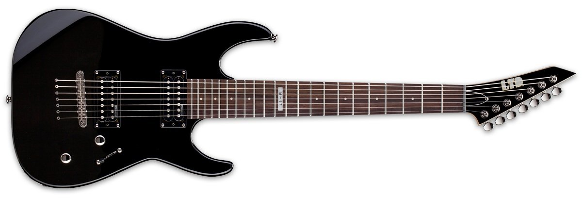 ESP LTD M-17 Electric Guitar, Black