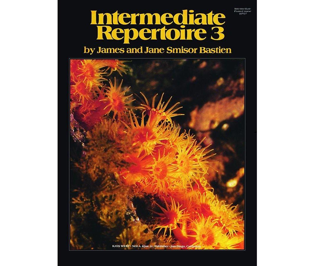 Intermediate Repertoire, Level 3 By Jane Bastien
