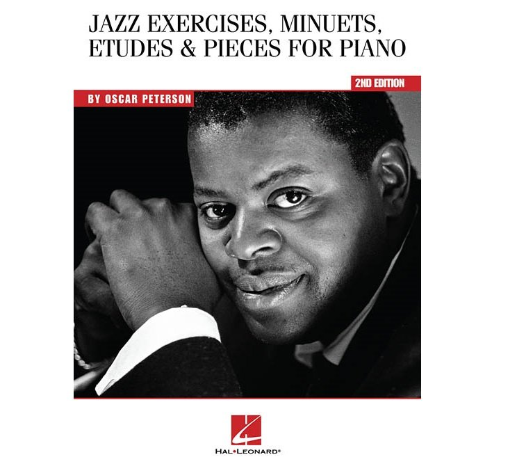 Jass Exercises, Minuets, Etudes & Pieces for Piano, By Oscar Peterson
