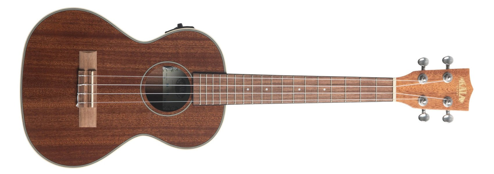 Kala KA-TGE Gloss Mahogany Acoustic Electric Tenor Ukulele