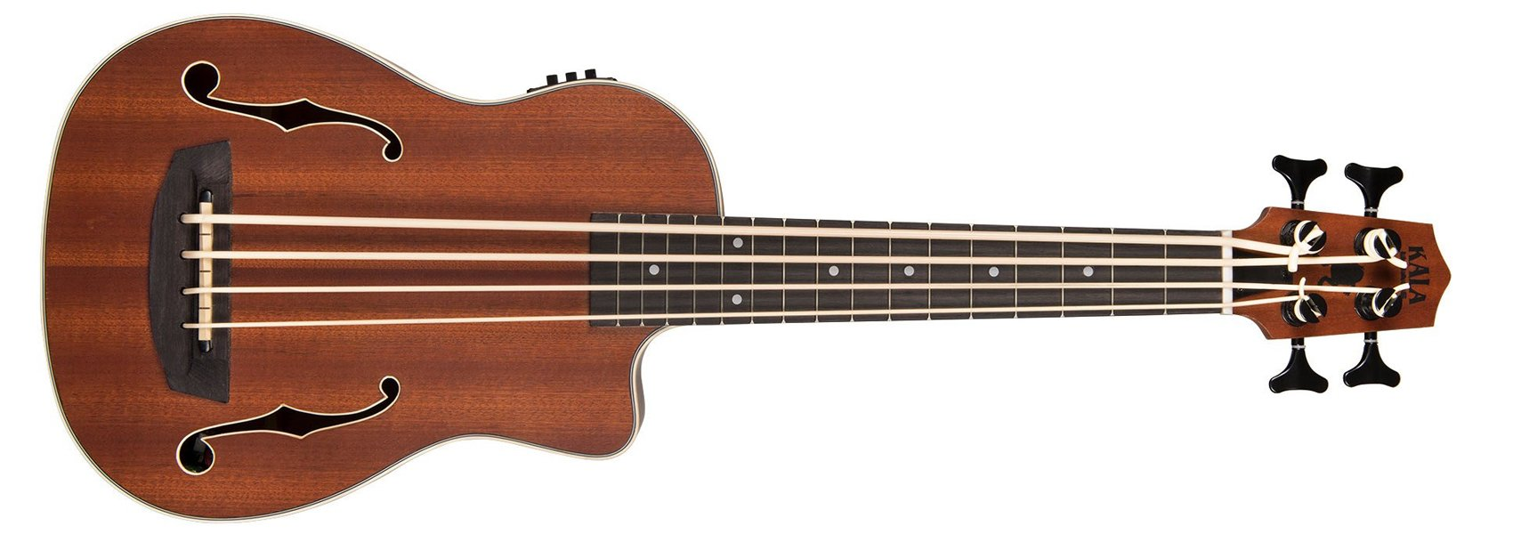 Kala Journeyman Mahogany Acoustic Electric U-Bass