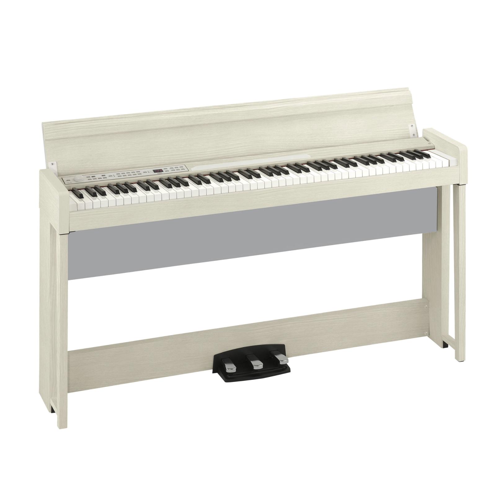 Korg C1 Air Digital Piano with Bluetooth, White Ash