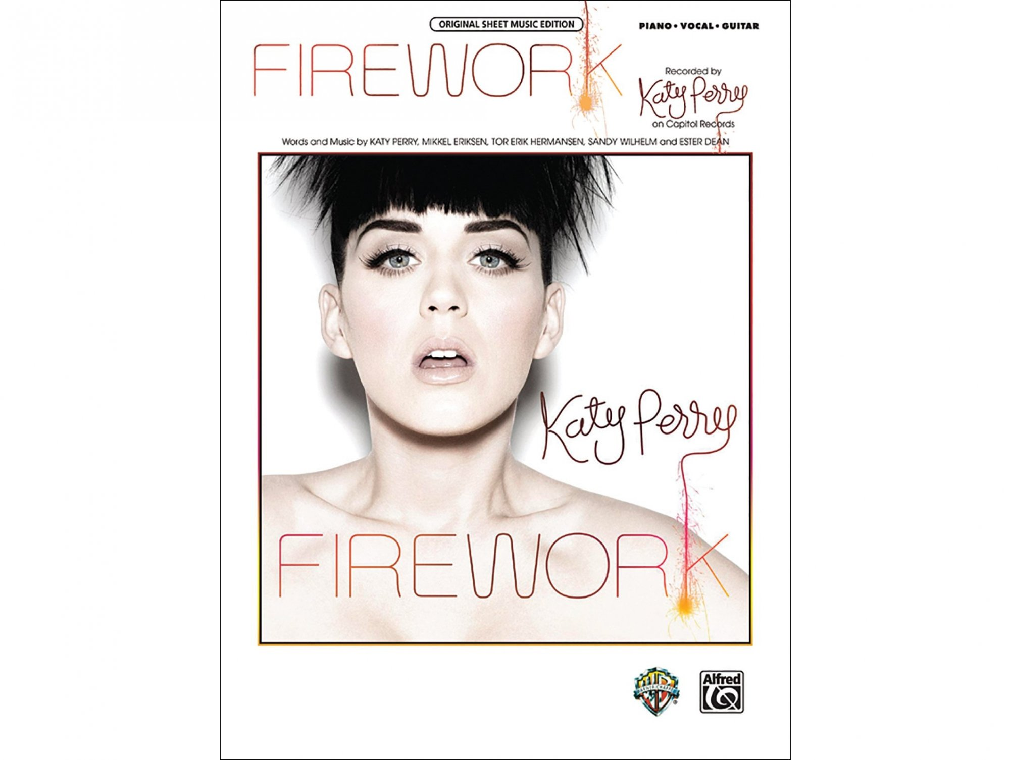 Katy Perry Firework Piano/Vocal/Guitar