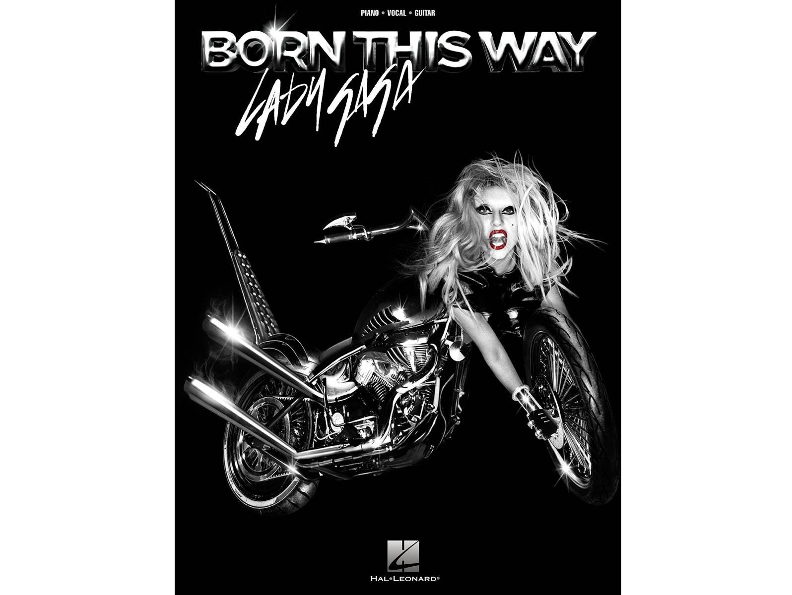 Lady Gaga Born This Way Piano/Vocal/Guitar