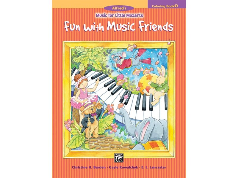 Alfred's Music for Little Mozarts Book 1 Coloring
