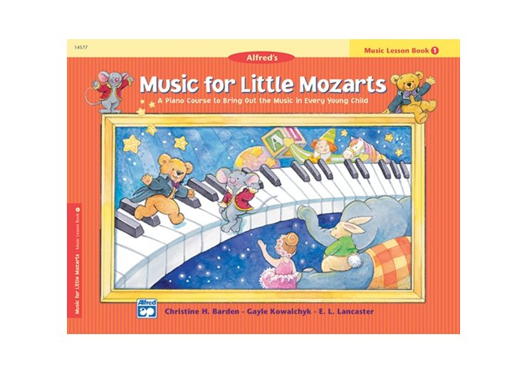 Alfred's Music for Little Mozarts Book 1 Music Lesson