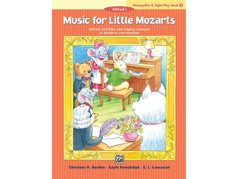 Alfred's Music for Little Mozarts Book 1 Notespeller & Sight-Play