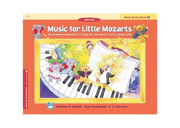 Alfred's Music for Little Mozarts Book 1 Music Recital