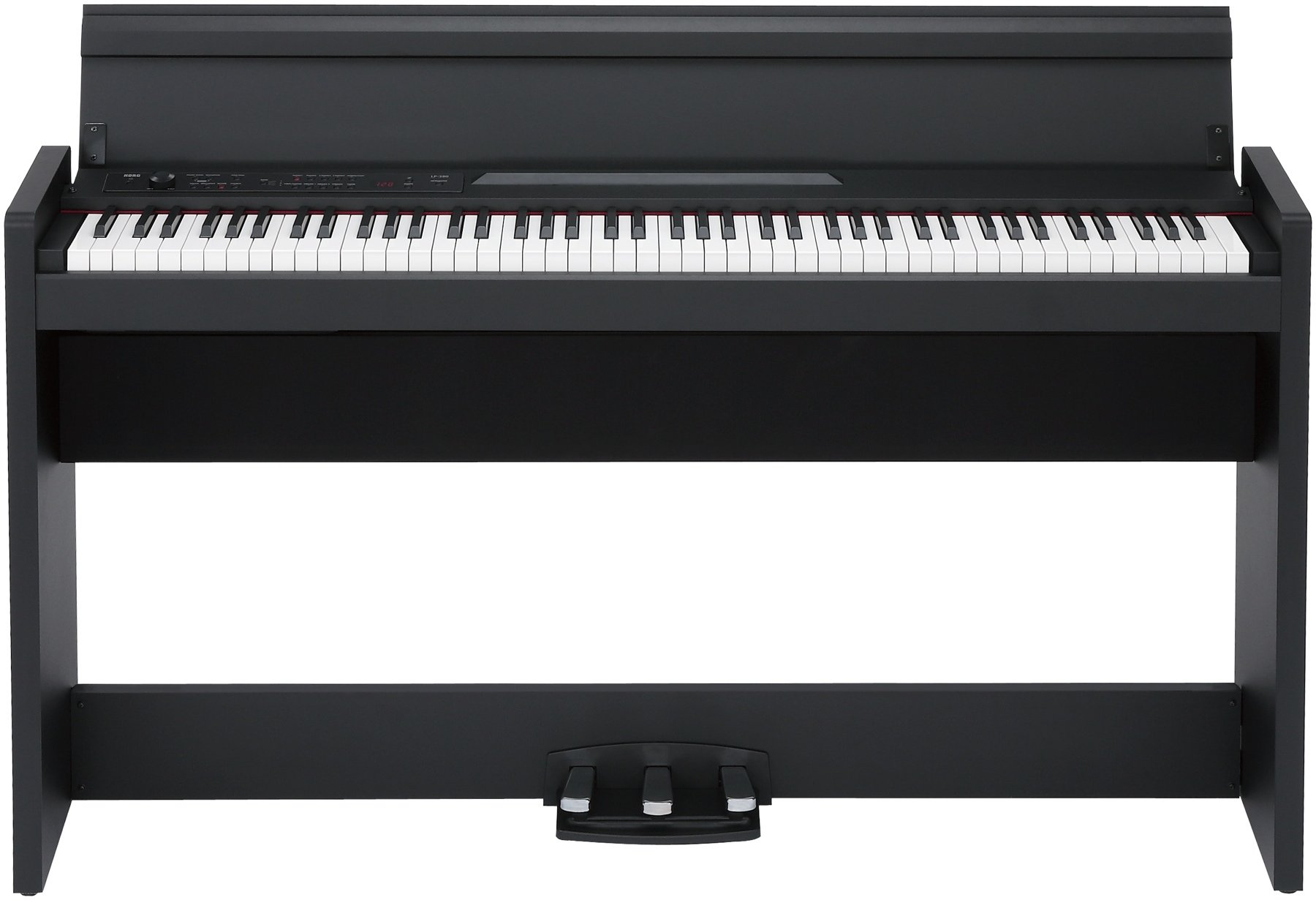 Korg LP-380-BK Digital Piano with Stand and Lid