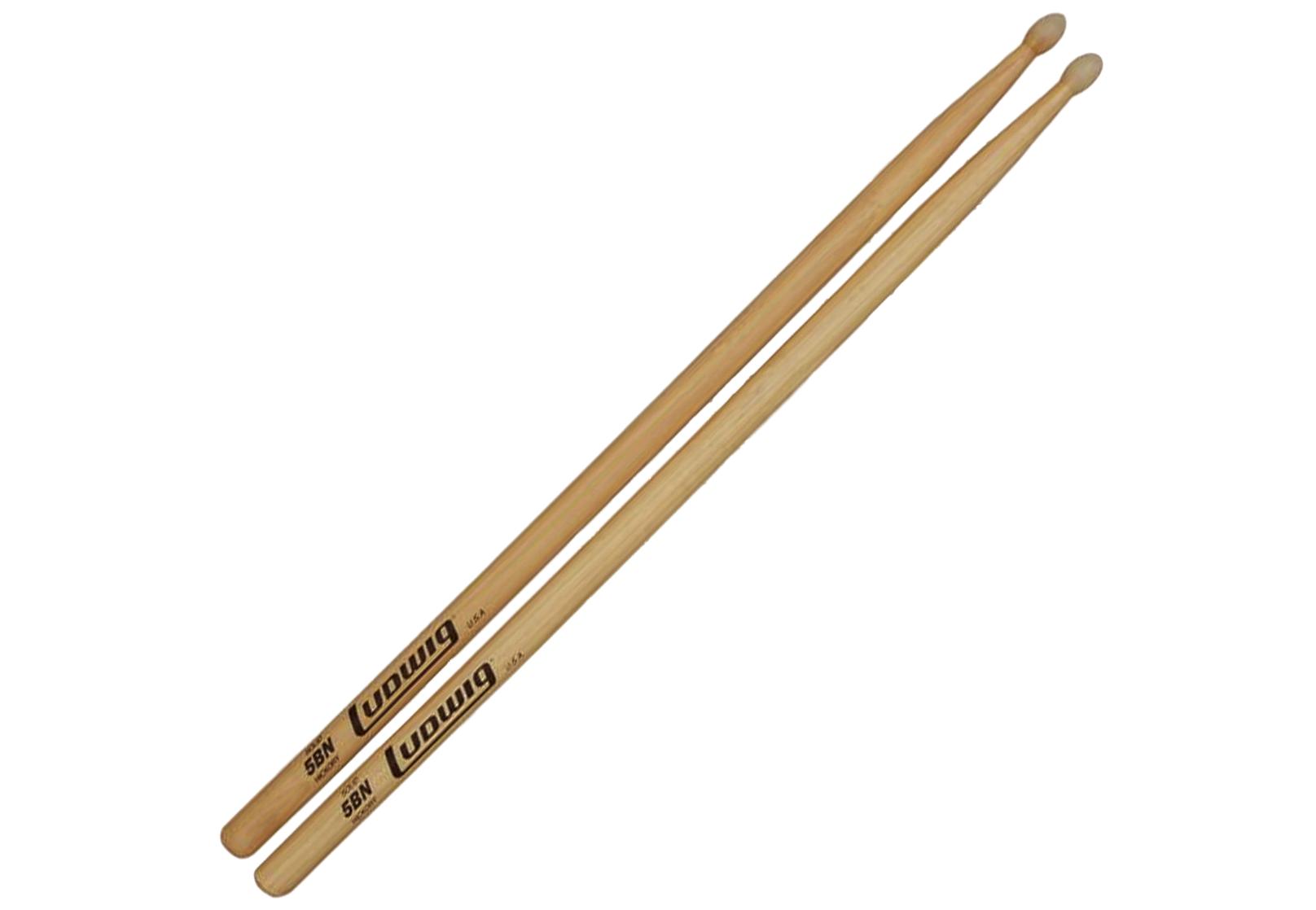 Ludwig 5BN Hickory Drumsticks