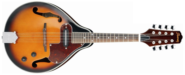 Ibanez M510E-BS A Style Mandolin Electric, Brown Sunburst