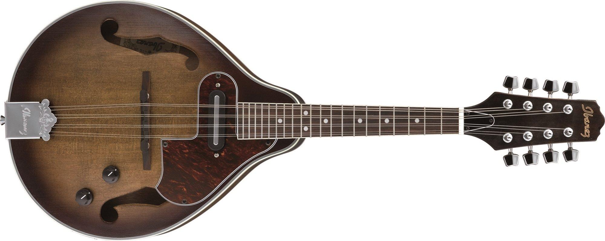 Ibanez M510E-OVS A Style Mandolin Electric, Open Pore Vintage Sunburst