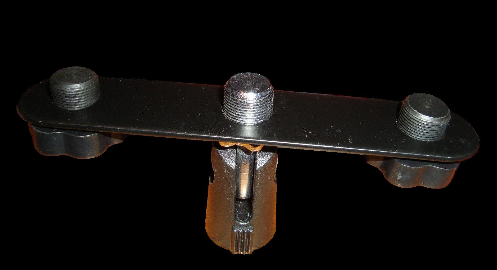 Stageline Triple Mic Adapter
