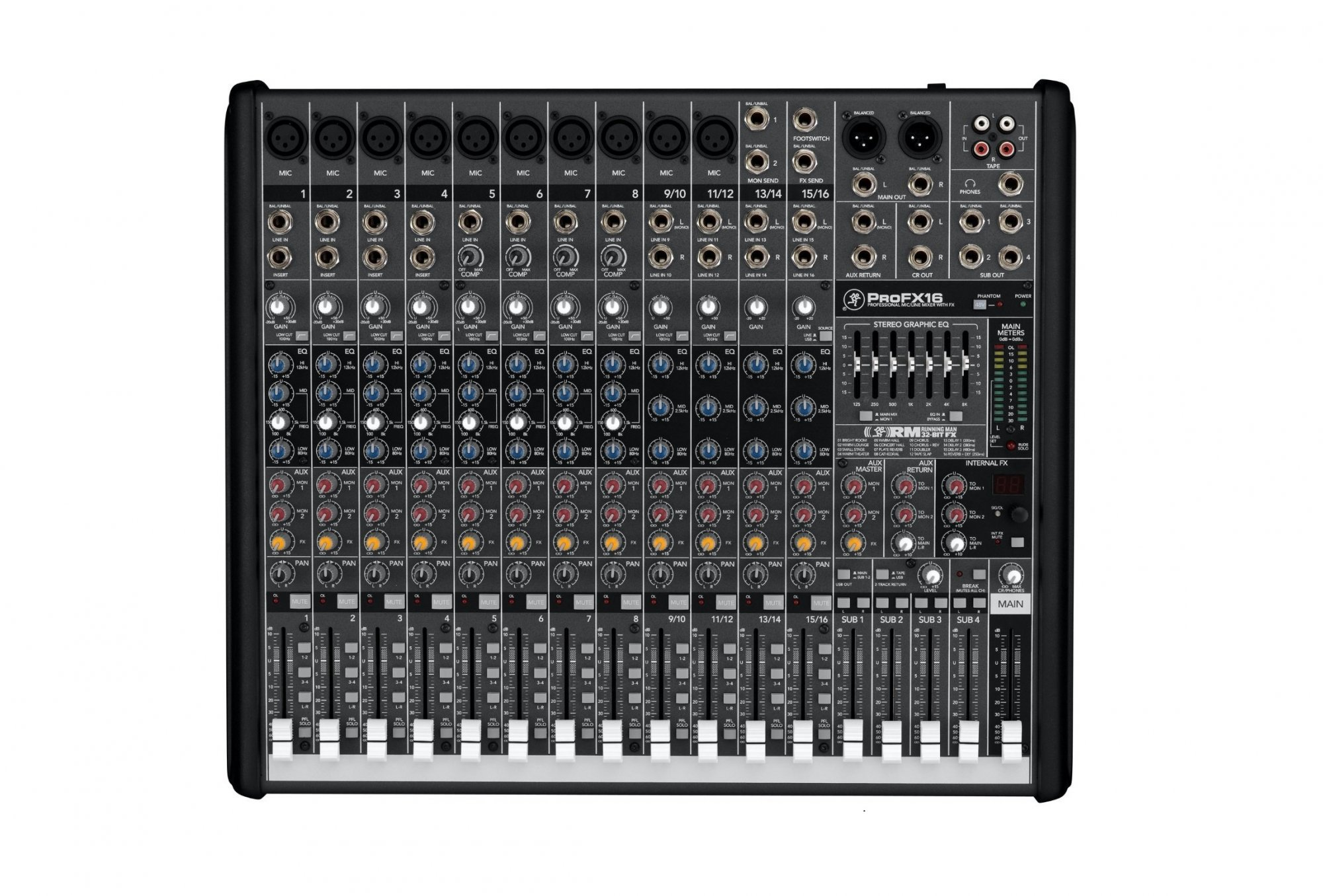 Mackie Pro FX16 Compact Effects Mixer