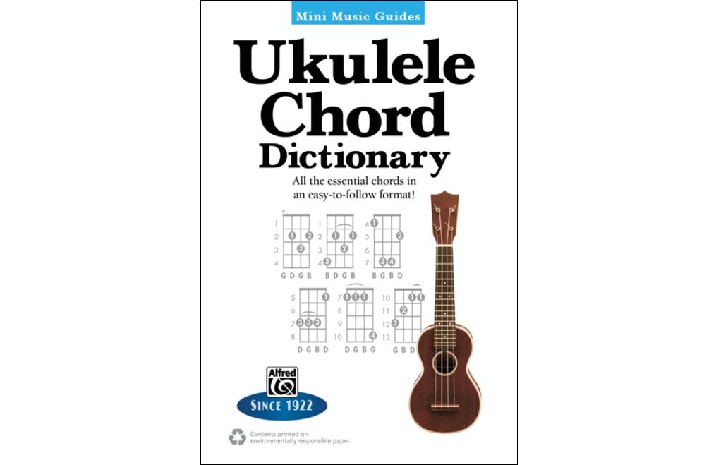 Ukulele Chord Dictionary Mini Music Guide