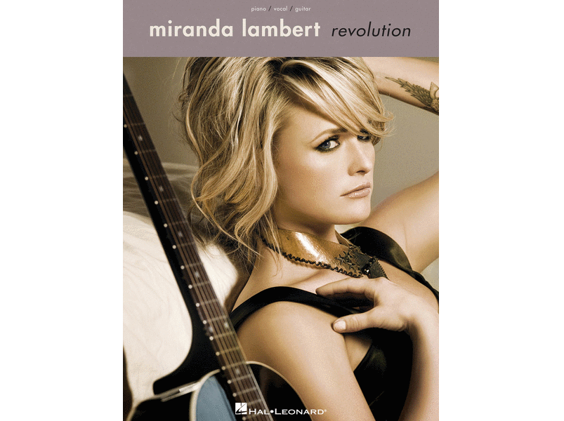 Miranda Lambert Revolution Piano/Vocal/Guitar - 884088551834