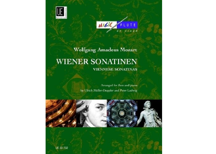 Mozart Viennese Sonatinas for Flute and Piano