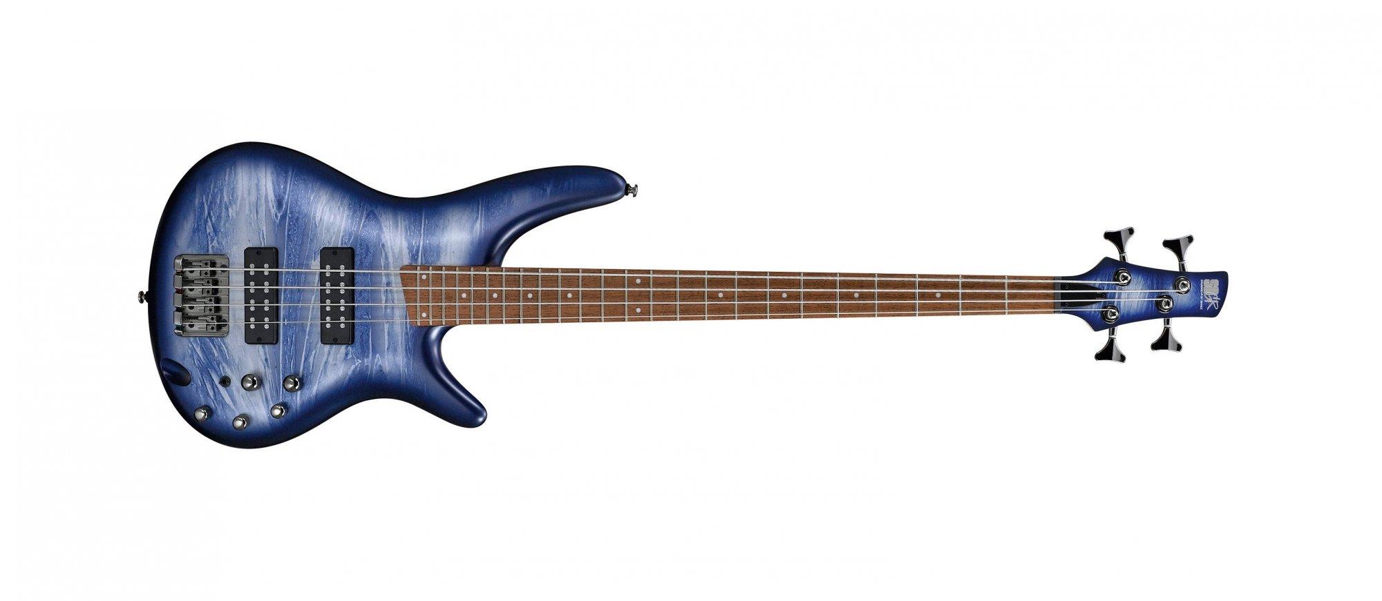 Ibanez SR300E Electric Bass, Navy Planet Matte