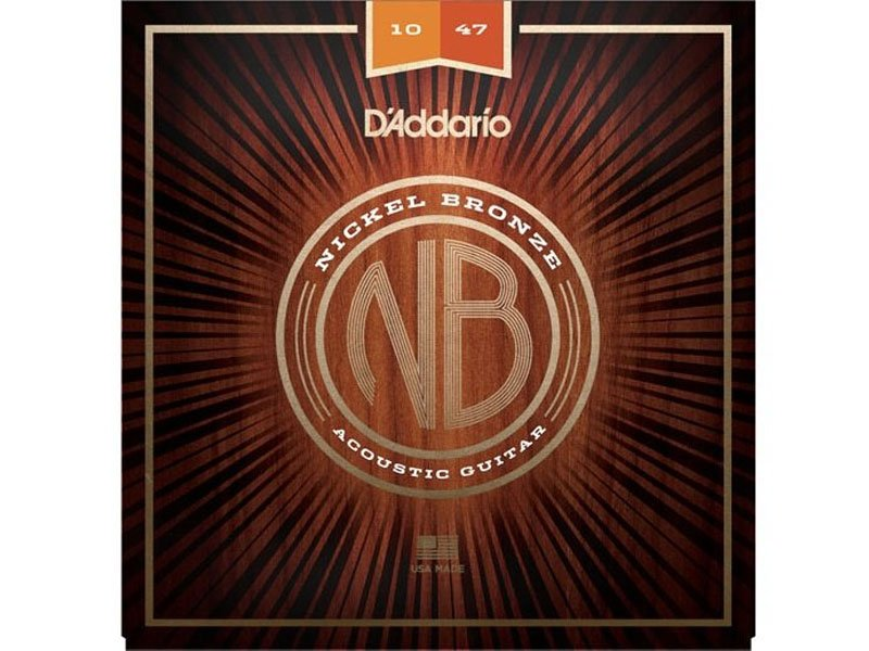 D'Addario Nickel Bronze Acoustic Guitar Strings, Extra Light Gauge