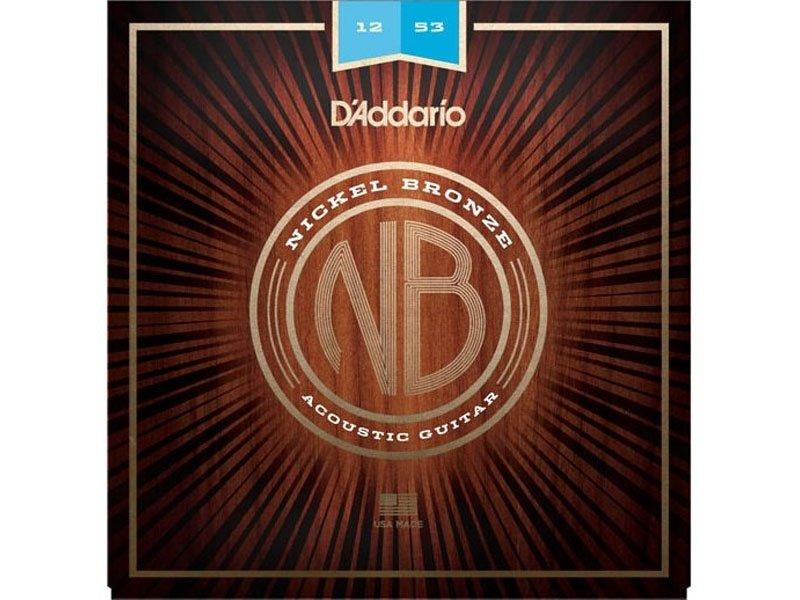 D'Addario Nickel Bronze Acoustic Guitar Strings, Light Gauge