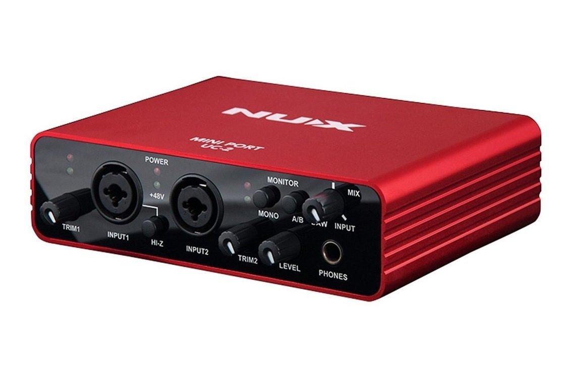 NUX UC-2 Mini Port USB Audio Interface