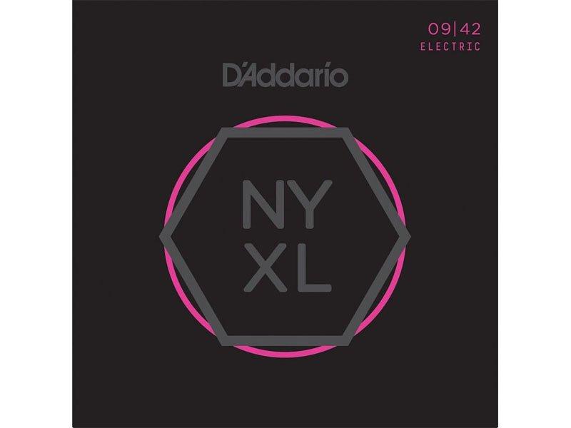 Daddario Nyxl Nickel Wound Electric Guitar Strings Super Light